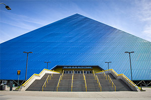 THE WALTER PYRAMID IN LONG BEACH, CA